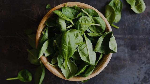 Spis grønt